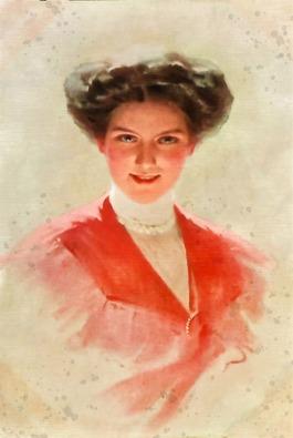 Image illustration une petite femme bien moderne